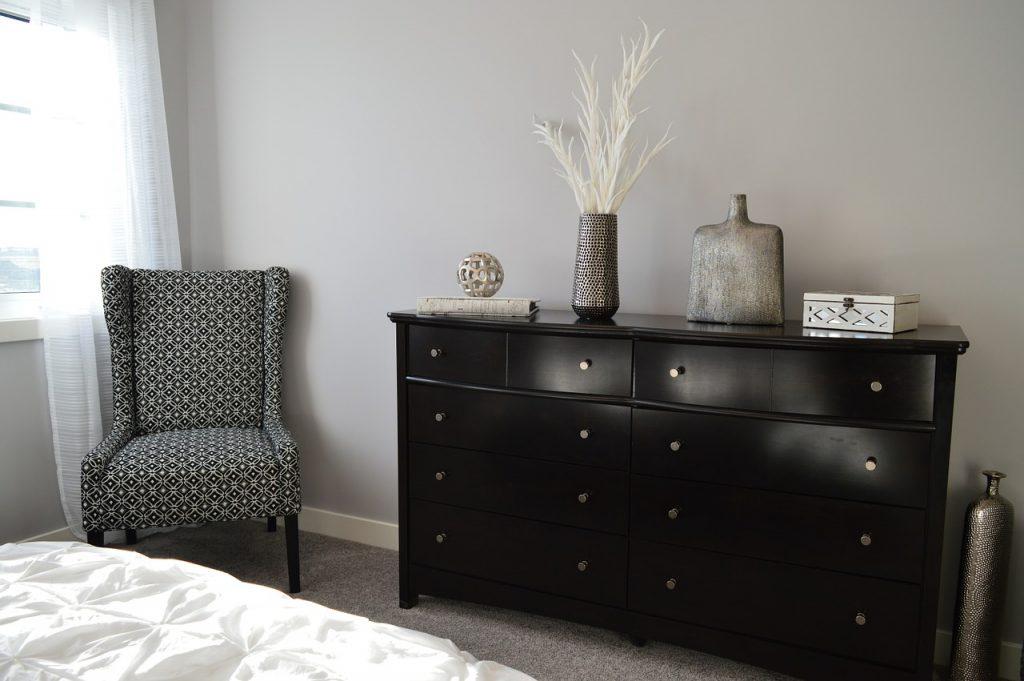 Nowoczesna sypialnia na bazie stylu skandynawskiego