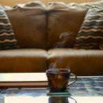 Szklany stolik kawowy do salonu