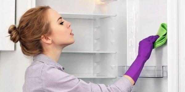 Czysta i bezpieczna lodówka
